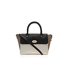 Carvela - Black combination 'Alexandra lock bag' handbag