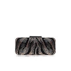 Carvela - Black comb 'Gazelle' bag