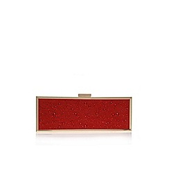 Carvela - Red 'Gemini' Small clutch