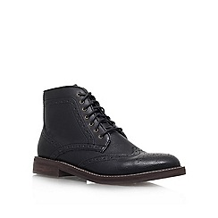 KG Kurt Geiger - Black 'Boothroyd' Lace up boot