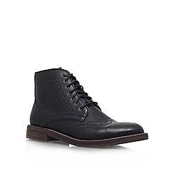 KG Kurt Geiger - Black 'Boothroyd' Lace up boot