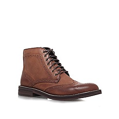 KG Kurt Geiger - Brown 'Boothroyd' boots