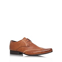 KG Kurt Geiger - Tan 'Gould' Lace-up formal shoe