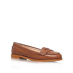 Miss KG - Tan 'Nora' Leather slip on