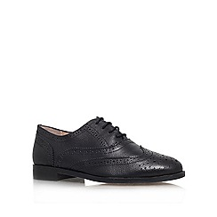 Miss KG - Black 'Nelly' Leather lace up