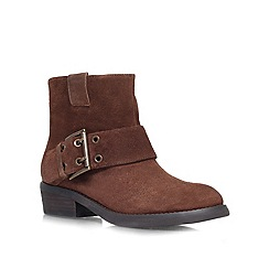 Nine West - Brown 'Kassy' Leather ankle boot