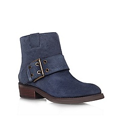 Nine West - Blue 'Kassy' Leather ankle boot
