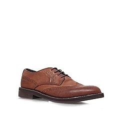 KG Kurt Geiger - Brown 'Francis' Brogue Shoes