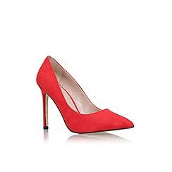 Carvela - Red 'Kestral' high heel court shoe