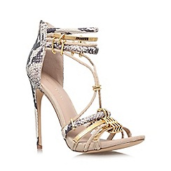 KG Kurt Geiger - Nude 'Native' High Heel Occasion