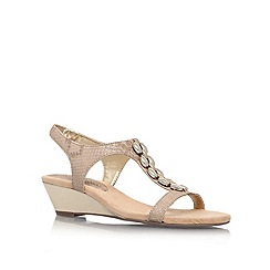 Anne Klein - Gold 'Damek3' Heeled sandal