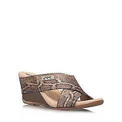 Anne Klein - Beige 'Lorri2' Wedge sandal