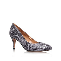 Nine West - Grey 'Applaud3' Heeled Shoe