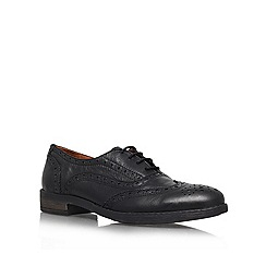 Carvela - Black 'Lucky' Leather lace up