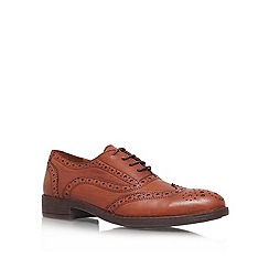 Carvela - Tan 'Lucky' Leather lace up