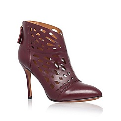 Nine West - Wine 'Darenne' High Heeled Ankle Boot