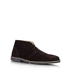 KG Kurt Geiger - Brown 'Arliz' Lace-up boots