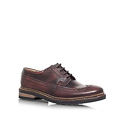 KG Kurt Geiger - Brown 'Arthur' Leather lace up