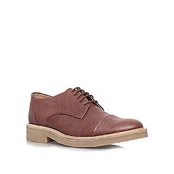 KG Kurt Geiger - Brown 'Sterling' Leather lace up