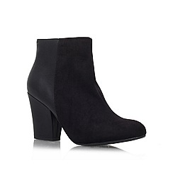 Miss KG - Black 'Bettie 2' Mid Heeled Ankle Boot