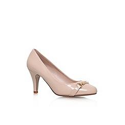 Miss KG - Nude 'Sasha' mid heel court shoe