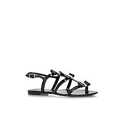 Miss KG - Black 'Jasmine' flat sandal
