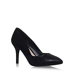 Miss KG - Black 'Savannah' high heel court shoes
