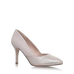 Miss KG - Brown 'Savannah' high heel court shoes