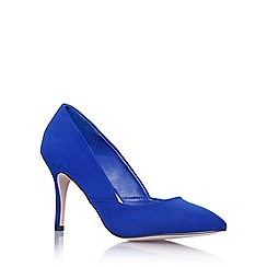 Miss KG - Blue 'Savannah' high heel court shoe