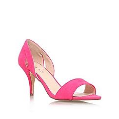 Miss KG - Pink 'Isla' mid heel sandal