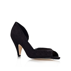 Miss KG - Black 'Sandra' high heel court shoe