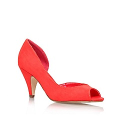 Miss KG - Red 'Sandra' high heel court shoe