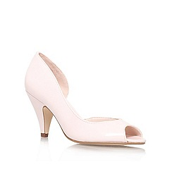 Miss KG - Pale pink 'Sandra' high heel court shoe