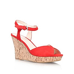 Nine West - Red 'Bigeasy' Wedge
