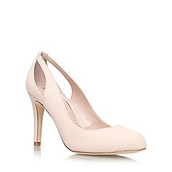 Miss KG - Nude 'Bernadette' high heel court shoe