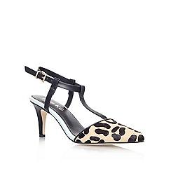 Miss KG - Blue Other 'ALBUS' Mid heeled print sandal