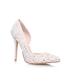 Carvela - Natural 'Glow' High Heel court shoes