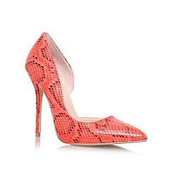 Carvela - Orange 'Asya' high heeled court shoe