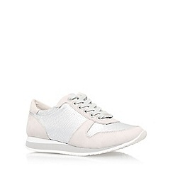 Carvela - Silver 'Libby' lace up sneaker