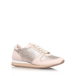 Carvela - Bronze com 'Libby' Flat lace up trainer