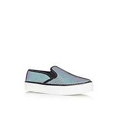 Carvela - Petrol 'Lux' flat slip on casual shoe