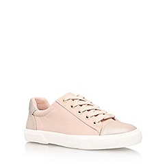Carvela - Pink 'Light' flat lace up sneakers
