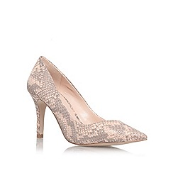 Carvela - Nude 'Anastasia' high heel court shoe