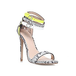 Carvela - Grey 'Gaze' High heeled court shoes