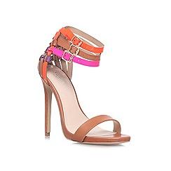 Carvela - Brown 'Gaze' High heeled court shoes