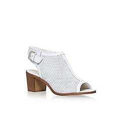Carvela - White 'Audrey' high heel sandals