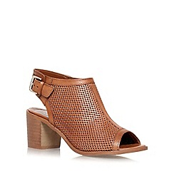 Carvela - Tan 'Audrey' mid heel shoe boot
