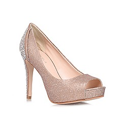 Carvela - Bronze 'Juliette' high heeled courts