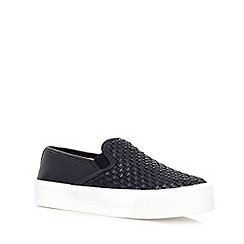 Carvela - Black 'Largos'  flat slip on