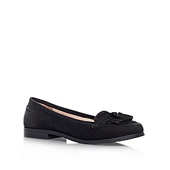 Carvela - Black 'LOTTIE' Flat slip on loafer
